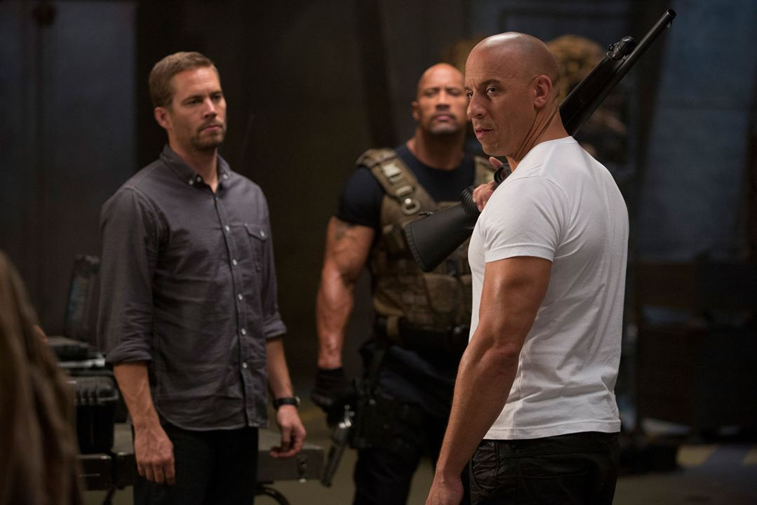 Fast & Furious 6 : Foto Dwayne Johnson, Paul Walker, Vin Diesel