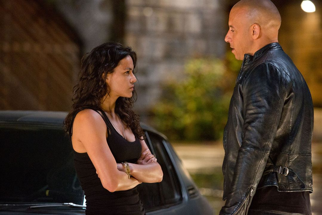 Fast & Furious 6 : Foto Michelle Rodriguez, Vin Diesel