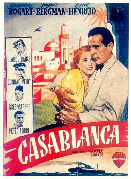 Casablanca : Cartel