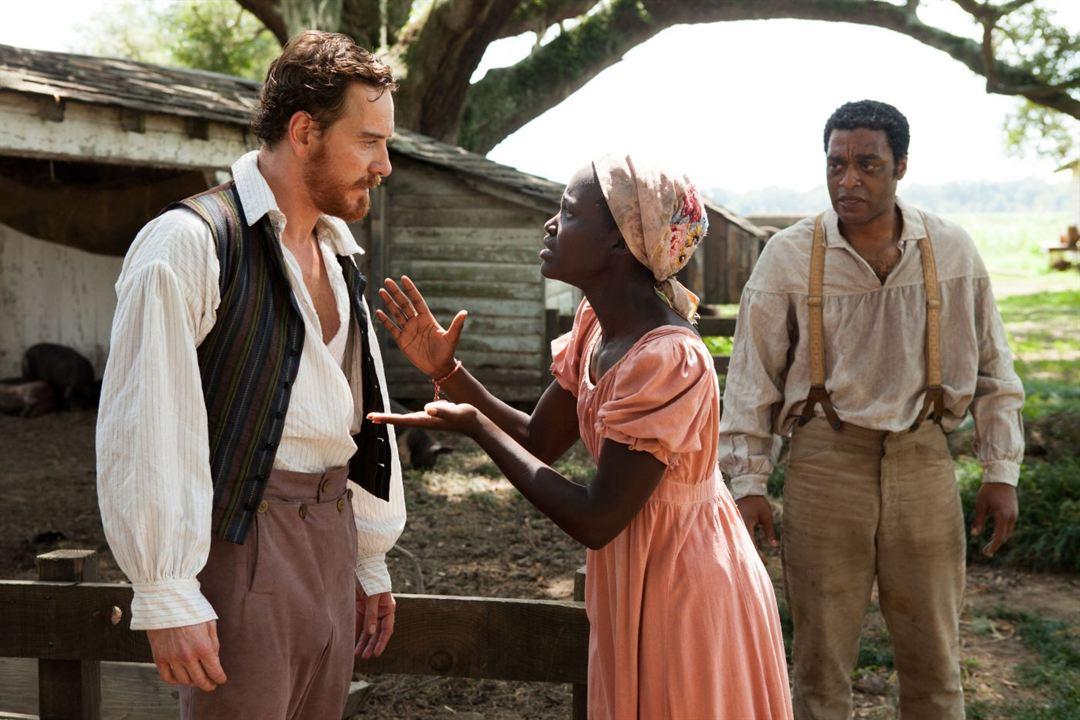 12 años de esclavitud : Foto Chiwetel Ejiofor, Lupita Nyong'o, Michael Fassbender