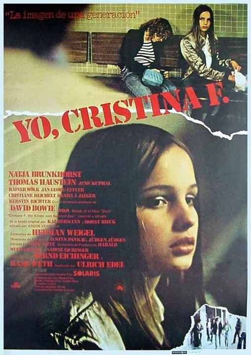Yo, Cristina F : Cartel