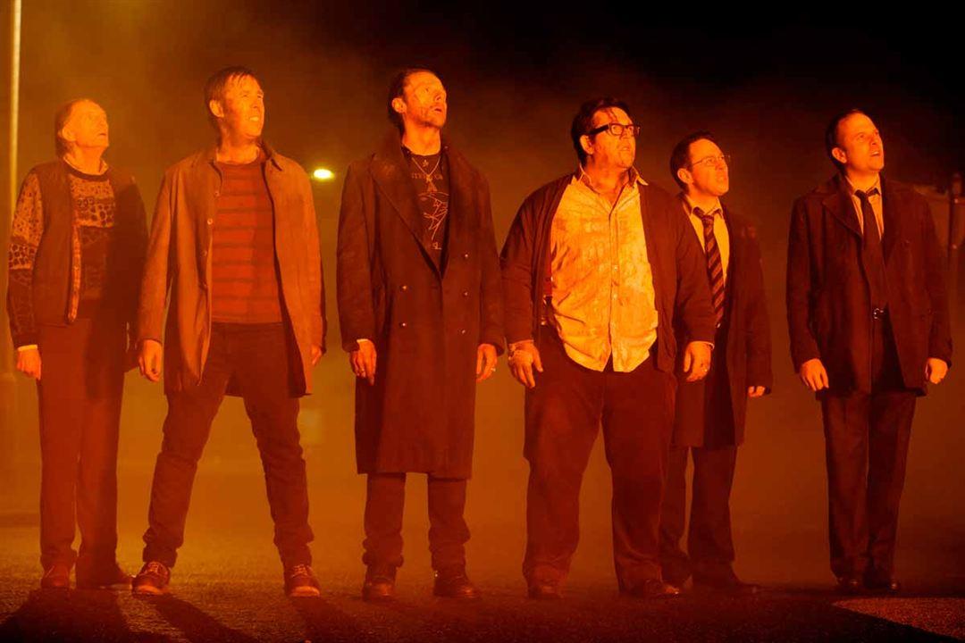 Bienvenidos al fin del mundo : Foto David Bradley, Eddie Marsan, Martin Freeman, Nick Frost, Paddy Considine