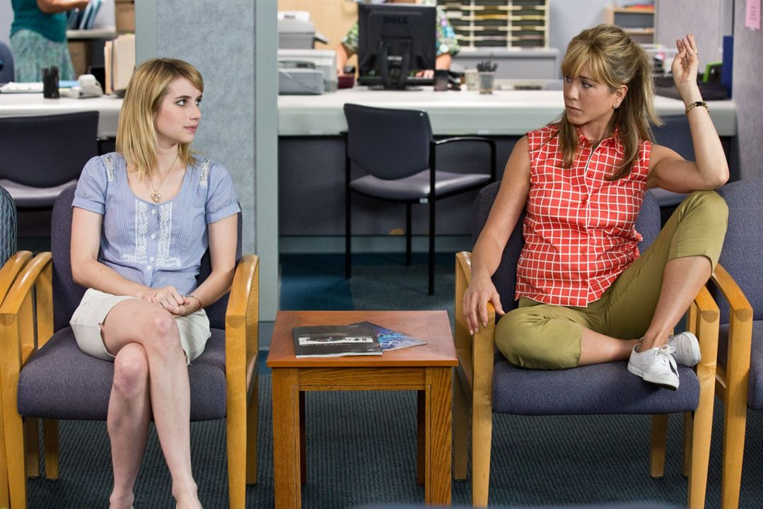 Somos los Miller : Foto Emma Roberts, Jennifer Aniston