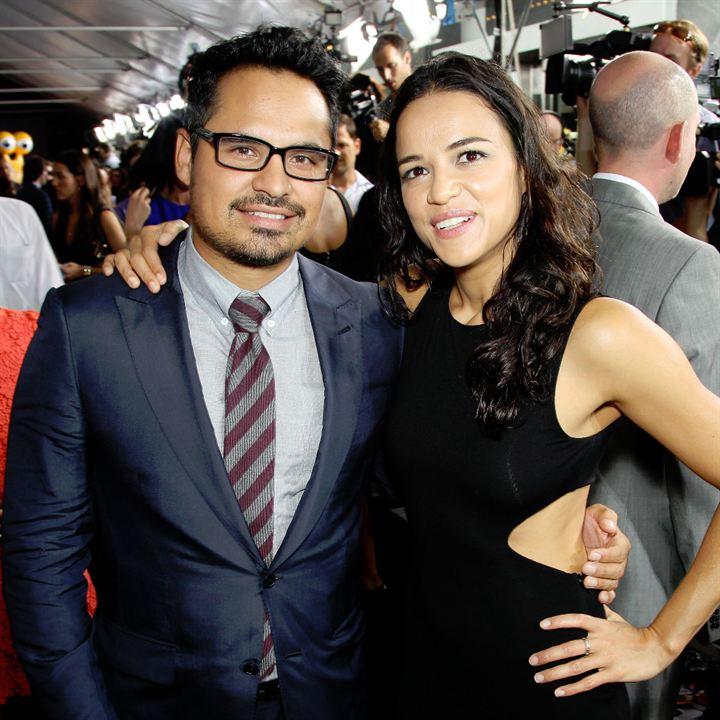 Turbo : Couverture magazine Michael Peña, Michelle Rodriguez