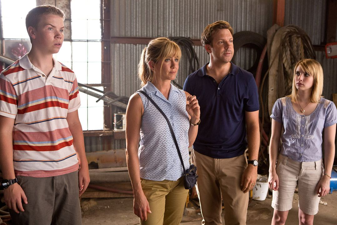Somos los Miller : Foto Jason Sudeikis, Jennifer Aniston, Will Poulter