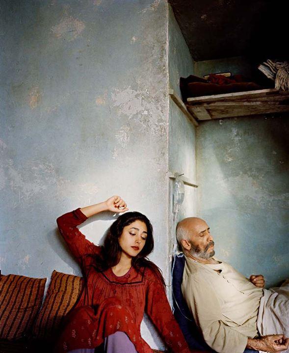 La piedra de la paciencia: Golshifteh Farahani, Hamidreza Javdan