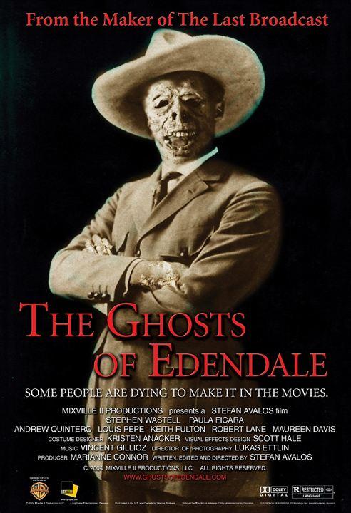 Fantasmas de Edendale : Cartel