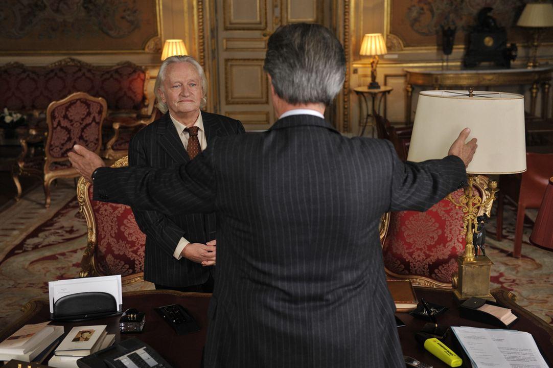 Crónicas diplomáticas. Quai d'Orsay : Foto Niels Arestrup, Thierry Lhermitte