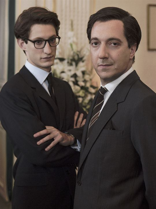 Yves Saint-Laurent : Foto Guillaume Gallienne, Pierre Niney