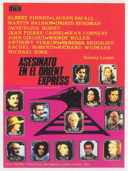 Cartel de Asesinato en el Orient Express - Poster 2 - SensaCine.com