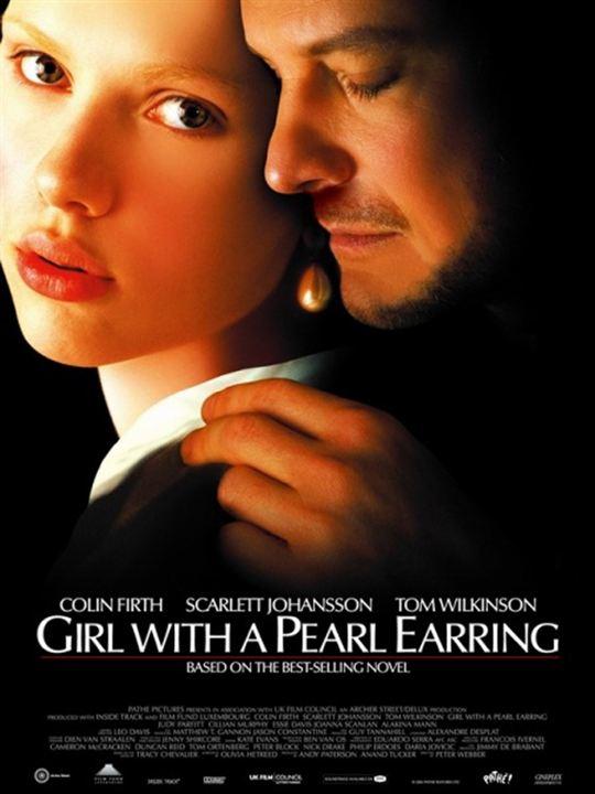 La joven de la perla : Cartel