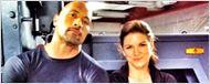 'Fast & Furious 6': Dwayne Johnson posa junto a Gina Carano en la primera imagen del rodaje