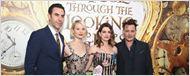 'Alicia a través del espejo': Mia Wasikowska, Johnny Depp y más asisten a la 'premiere' en Hollywood