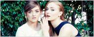 'Juego de Tronos': Maisie Williams y Sophie Turner se hacen el mismo tatuaje para demostrar su amor por la serie