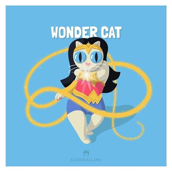 12 de las mejores series y películas representadas por gatos en estas divertidas ilustraciones 1967070