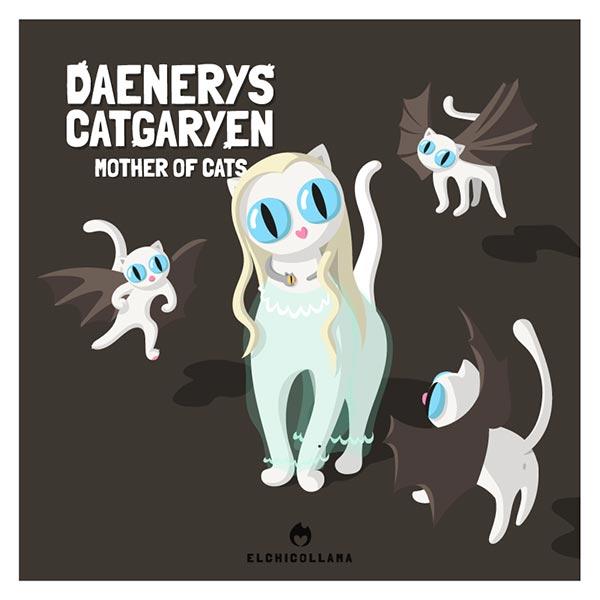 12 de las mejores series y películas representadas por gatos en estas divertidas ilustraciones 2737380