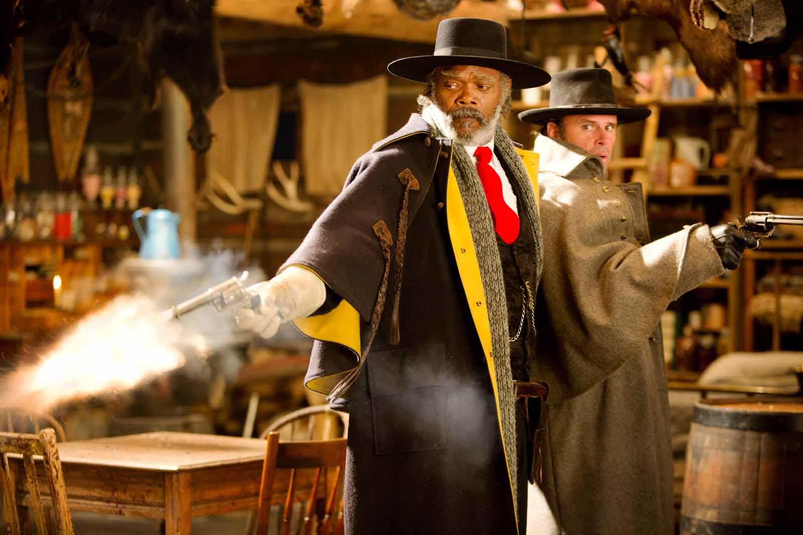 Samuel L Jackson en Los odiosos ocho