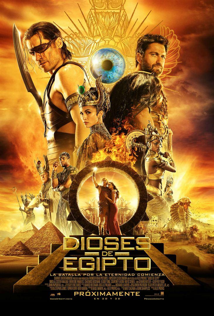 Dioses de Egipto - Cartel