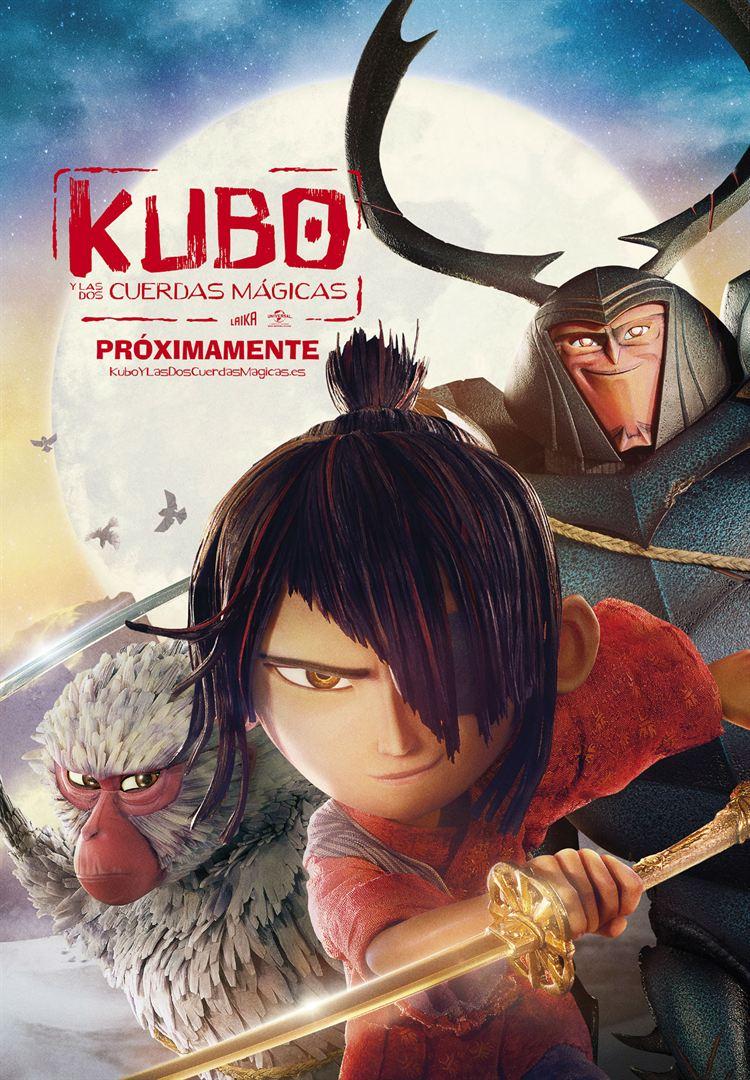 Kubo y las dos cuerdas mágicas - Cartel