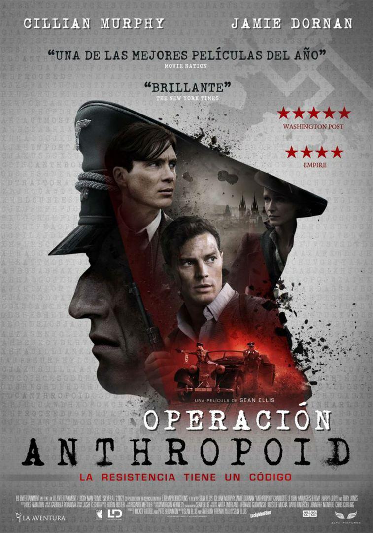 Operación Anthropoid - Cartel