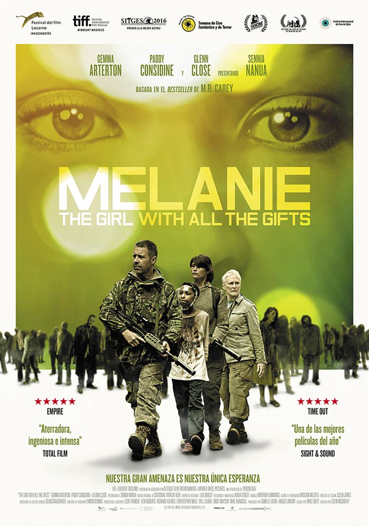 Melanie. The Girl with All the Gifts - Cartel