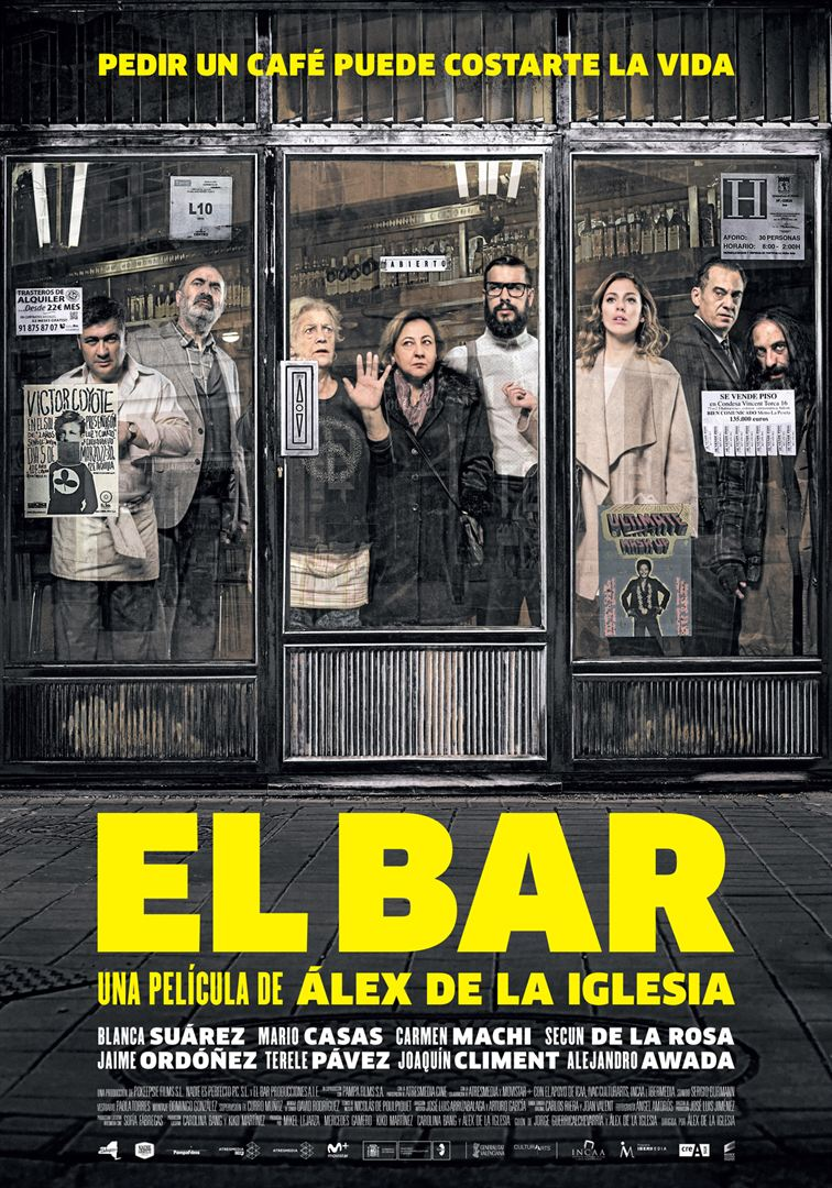 El bar - Cartel