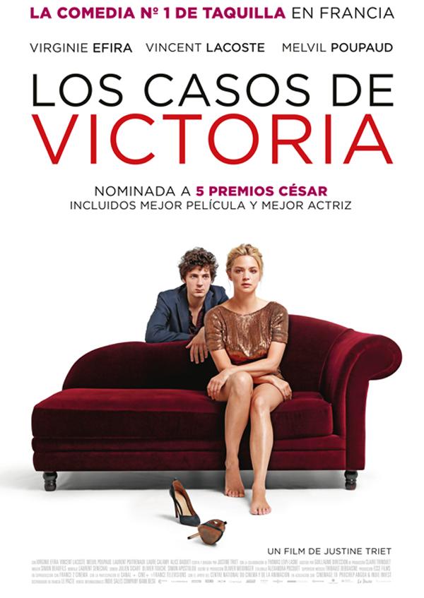 Los casos de Victoria - Cartel