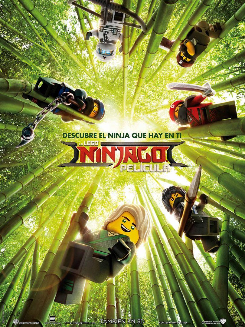 La Lego Ninjago película - Cartel