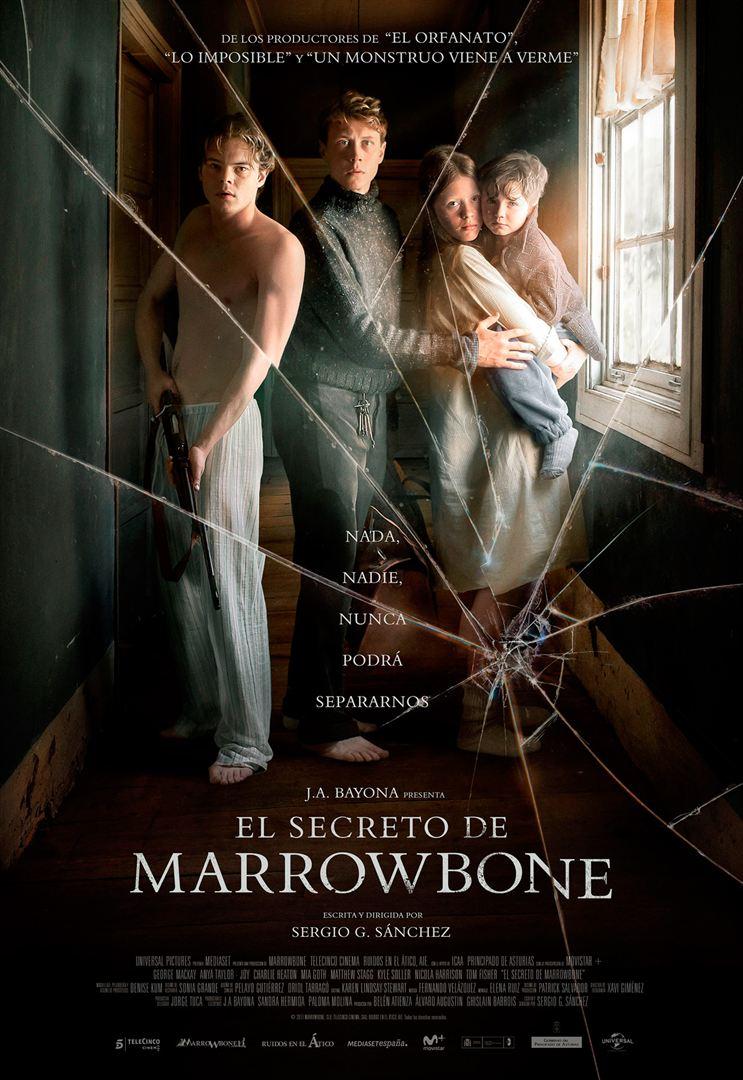 El secreto de Marrowbone - Cartel
