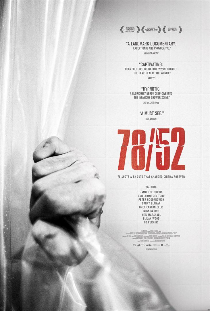78/52: La escena que cambió el cine - Cartel