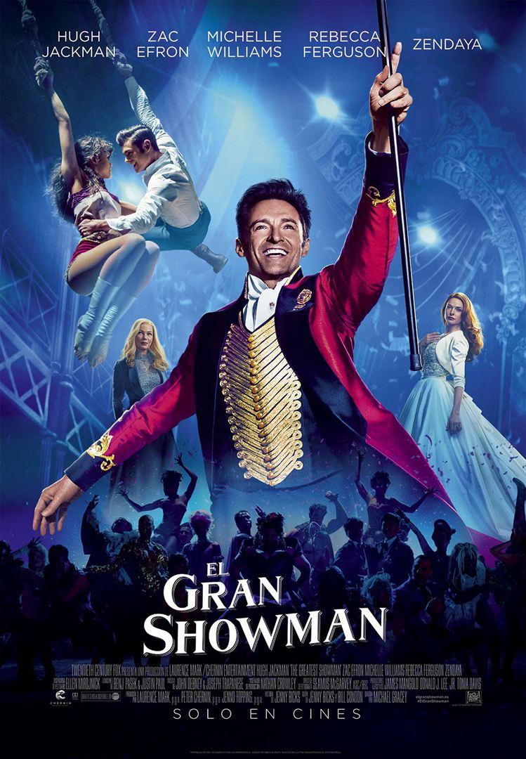 El gran showman - Cartel