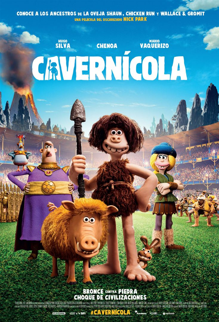 Cavernícola - Cartel