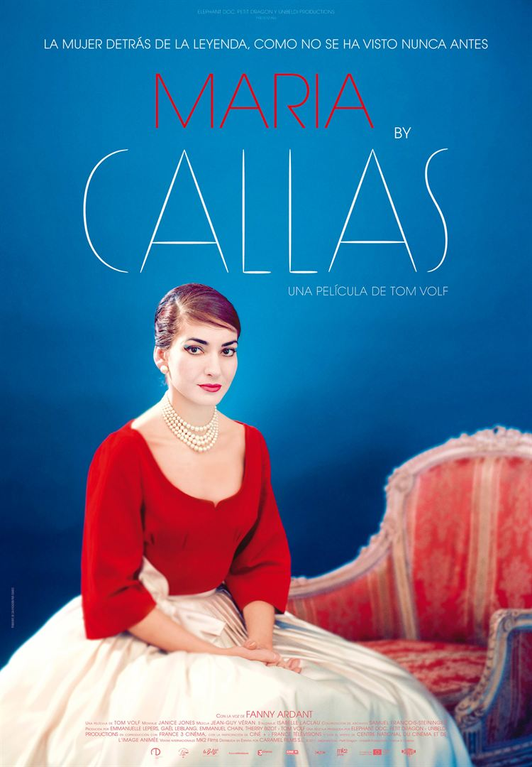 Maria by Callas - Cartel