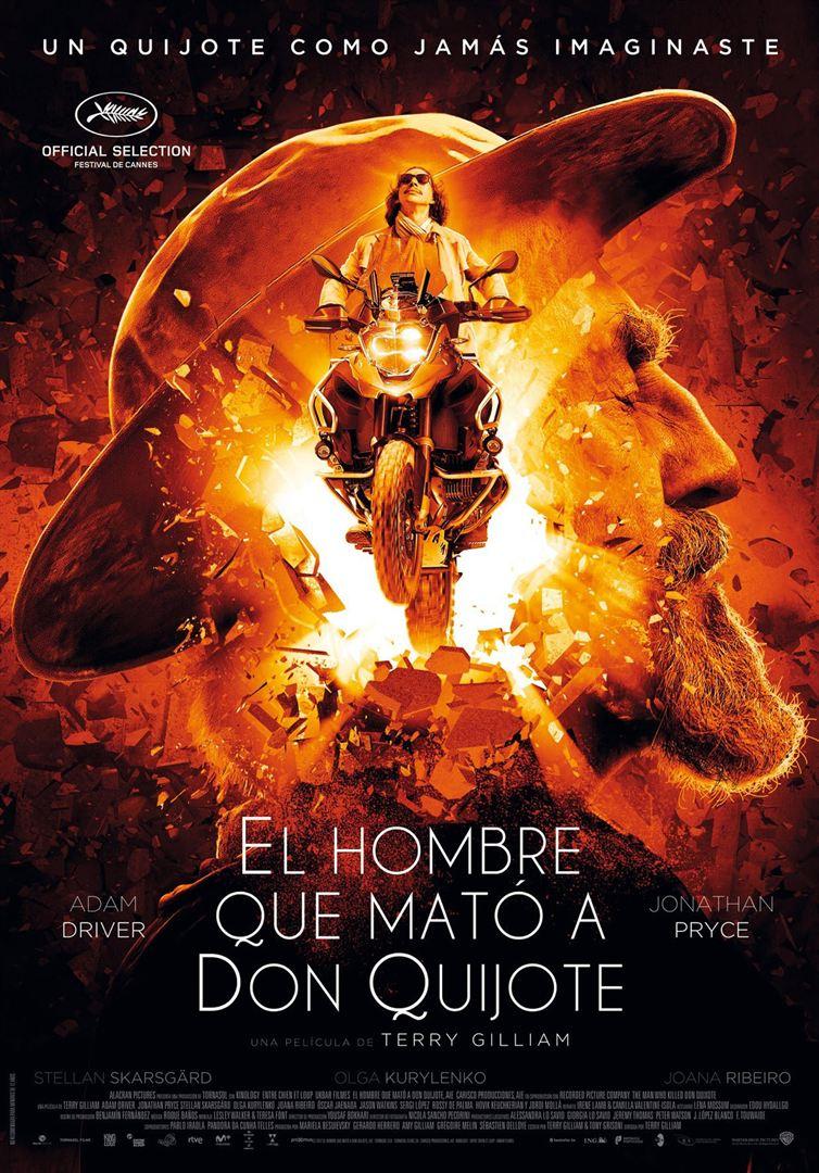 El hombre que mató a Don Quijote - Cartel