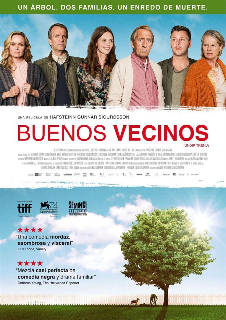 Buenos vecinos - Cartel