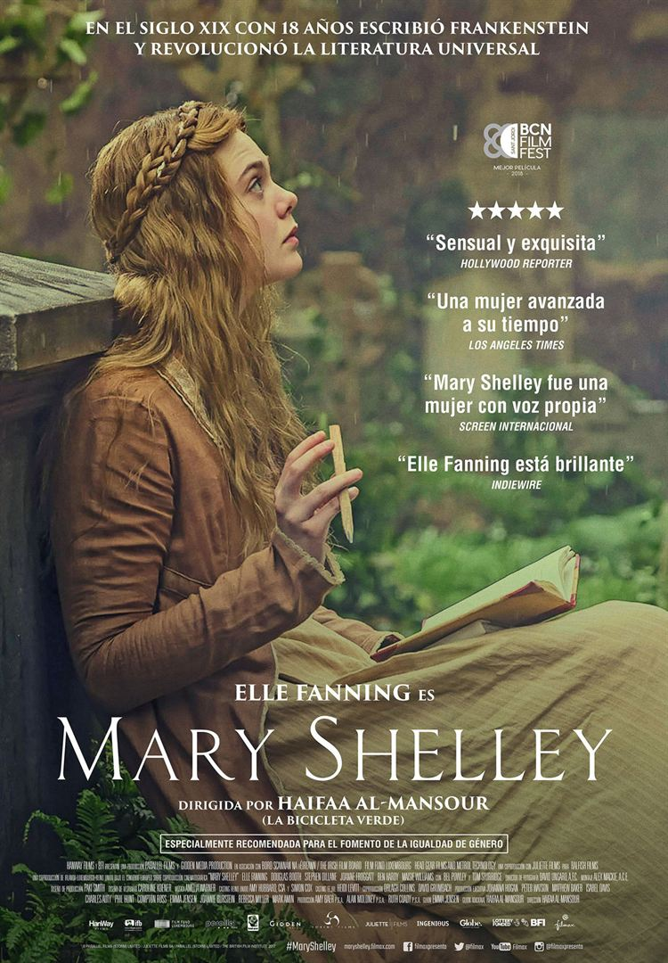 Mary Shelley - Cartel