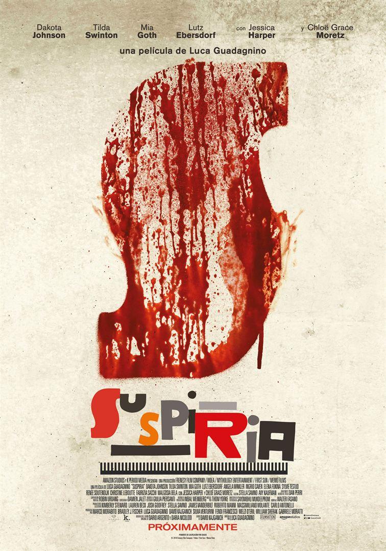 Suspiria - Cartel