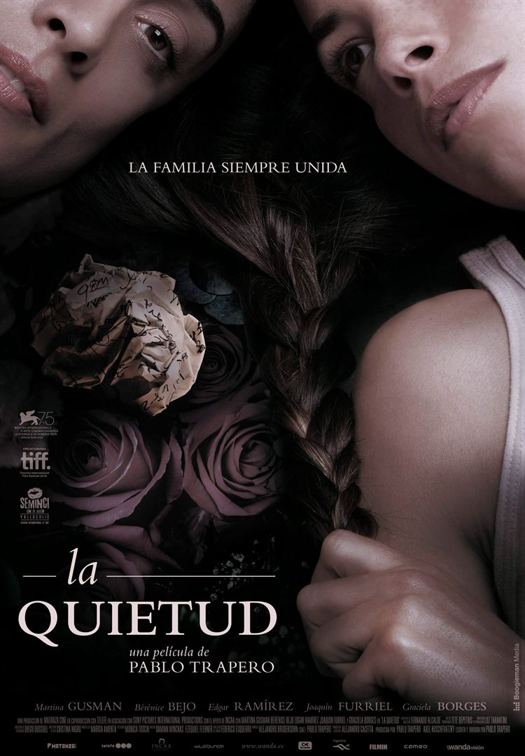 La quietud - Cartel