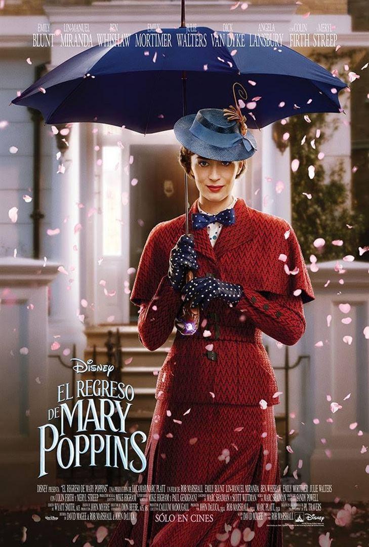 El regreso de Mary Poppins - Cartel
