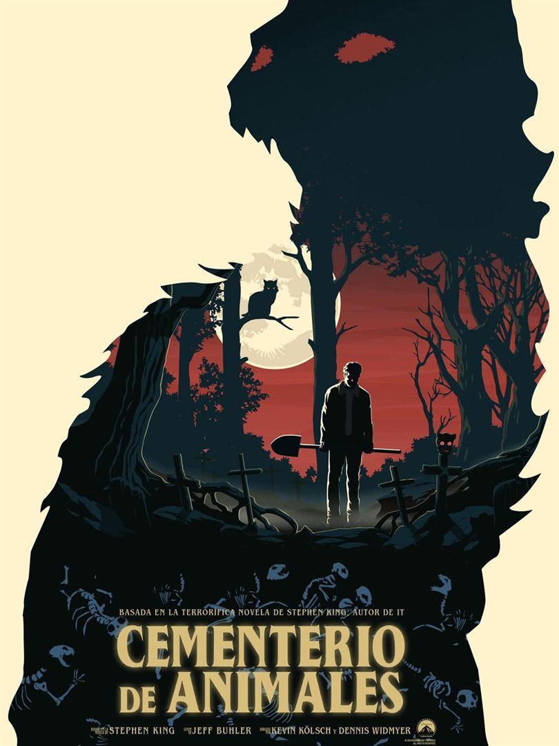 Cementerio de animales - Cartel
