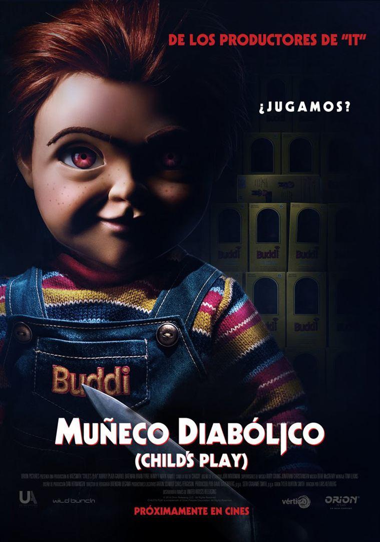 Muñeco Diabólico - Cartel