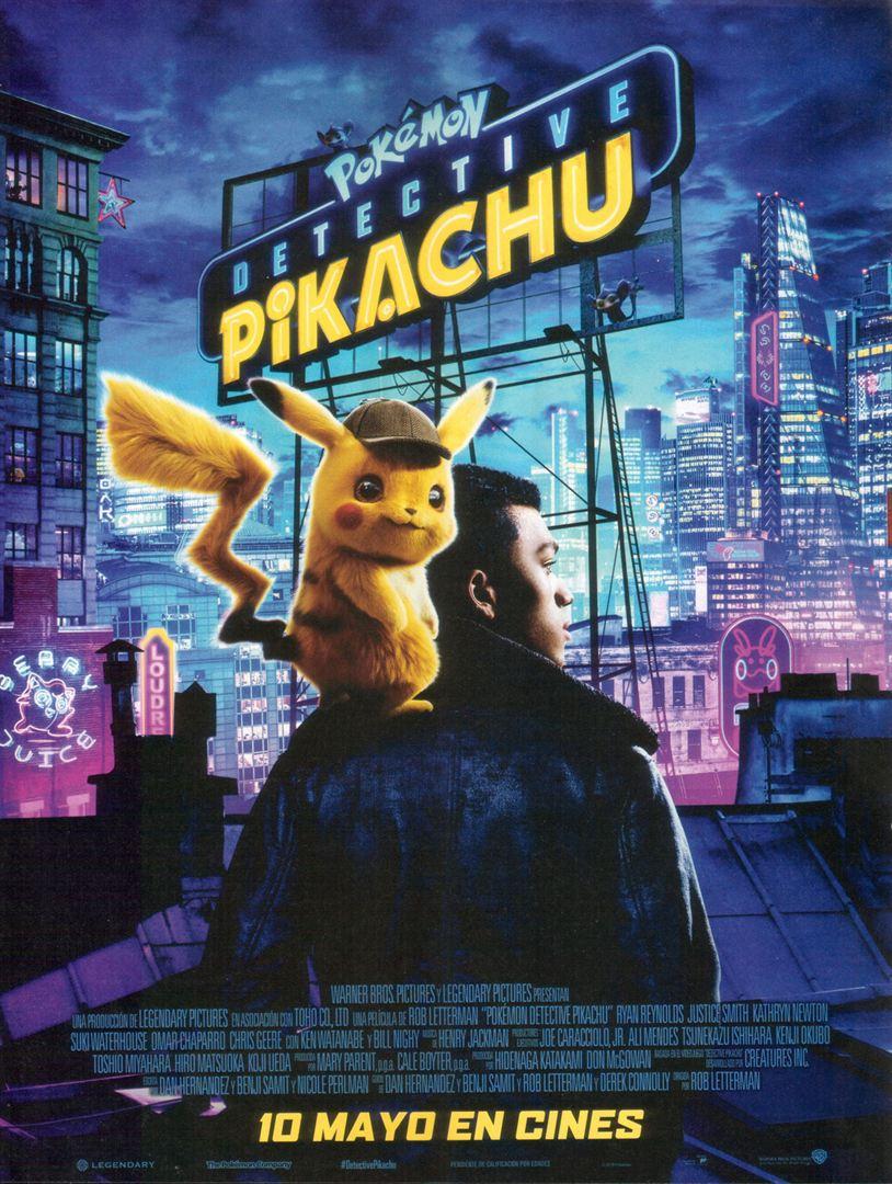 Pokémon Detective Pikachu - Cartel