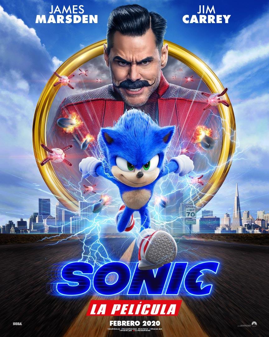 Sonic. La película - Cartel