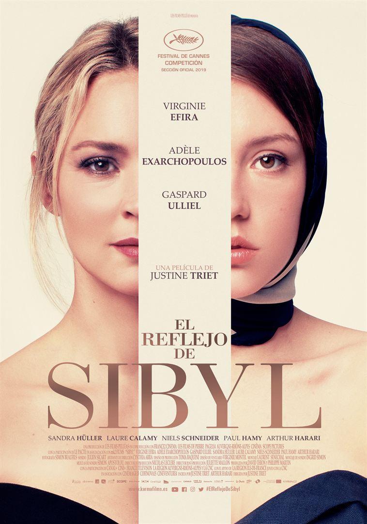 El reflejo de Sibyl - Cartel