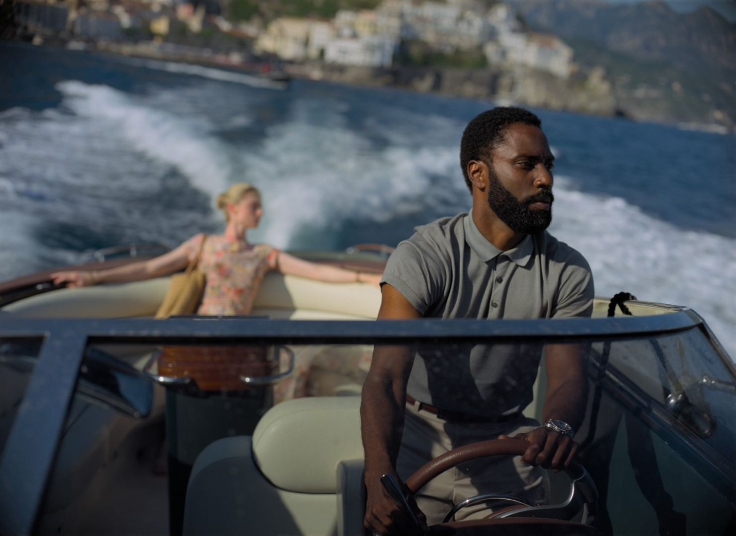 John David Washington en Tenet, dirigida por Christopher Nolan