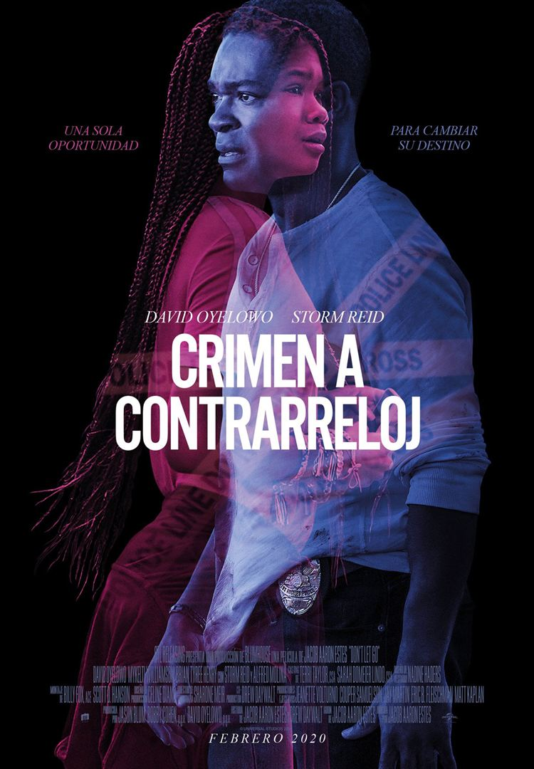 Crimen a contrarreloj- Cartel
