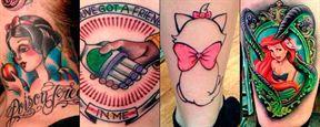 25 tatuajes con los personajes de Disney y Pixar