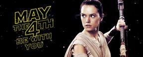 Daisy Ridley felicita a los fans en el día 'Star Wars'