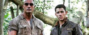 'Jumanji': Dwayne Johnson comparte la primera imagen de Nick Jonas como su personaje