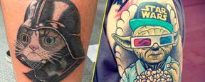 Los 13 tatuajes más sorprendentes sobre 'Star Wars'